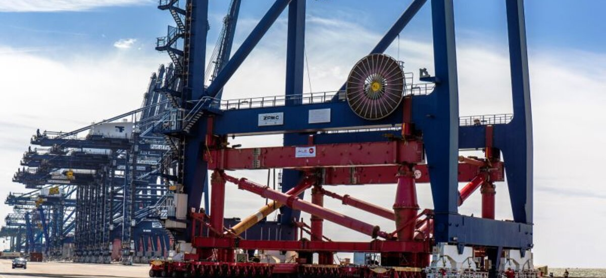 New cranes ordered at Port of Felixstowe