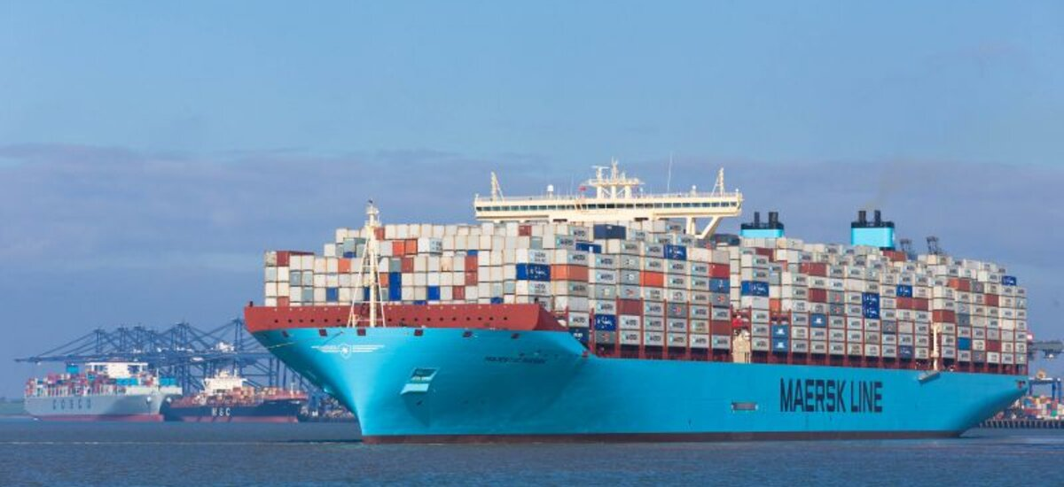 Haven Gateway - News / World's largest container ships call